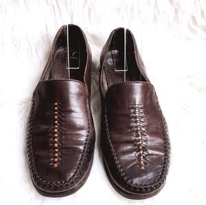 Cole Haan Woman's 6.5 Brown Leather Loafers